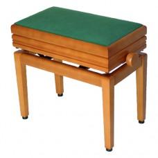 Klavierbank original Burghardt B2002 mit echt-Leder