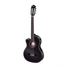 Konzertgitarre für Linkshänder RCE145LBK Ortega