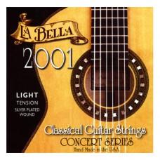 Saitensatz für Konzertgitarre La Bella - 2001