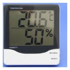 Digital-Hygrometer / Thermometer Min/Max schwarz/weiß