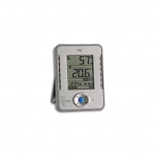 Profi-Hygrometer / Thermometer silber