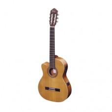 Elektrifizierte Konzertgitarre für Linkshänder RCE131L Ortega