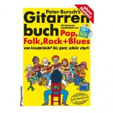 Peter Burschs Gitarrenbuch, Band 1, 160 Seiten, VR208