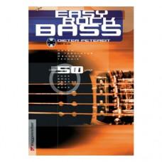 Dieter Petereit Easy Rock Bass, 142 Seiten, deutsche Ausgabe