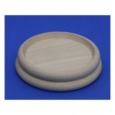 Holzuntersetzer für Klavier oder Flügel roh, Durchmesser 85 mm