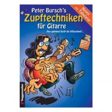 Peter Burschs - Zupftechniken für Gitarre
