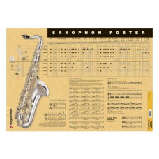 Müller-Irion - Saxophon-Poster