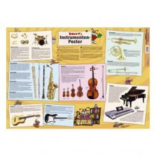 Voggys Instrumenten-Poster
