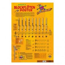 Voggys Blockflöten-Poster