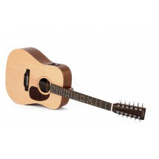 Sigma 12-Saiter DM12E Dreadnought Westerngitarre