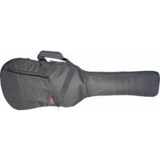Tasche für 3/4 E-Gitarre, 10 mm Polsterung, grau-schwarz