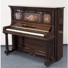 Steinway & Sons Klavier 138 cm, Intarsien, Palisander
