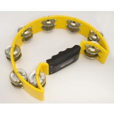 Tambourine, Schellenring gelb, Abverkauf, Rassel