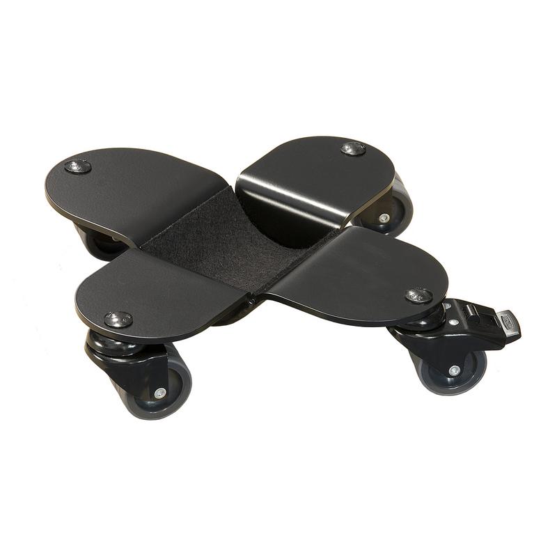 Flügeltransportrollen, Rollen für Flügel, schwarz, Polyuretanräder