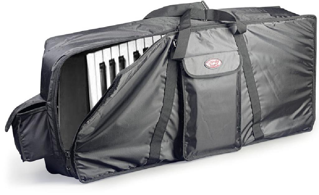 Keyboard Tasche schwarz 120 x 47 X 19 cm, 10mm Polster