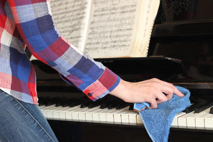 Tipps zum Stimmen und Pflegen von Klavieren