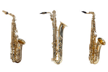 Eigenschaften der verschiedenen Saxophonarten