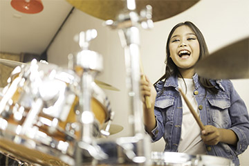 Ab wann können Kinder Schlagzeug lernen?